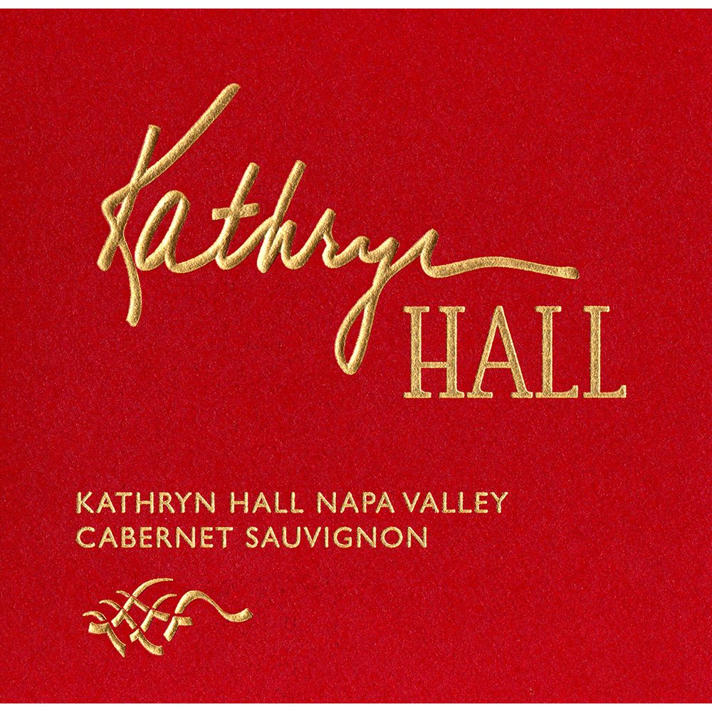 Hall Kathryn Hall Cabernet Sauvignon (375ML half-bottle) 2012 Front Label