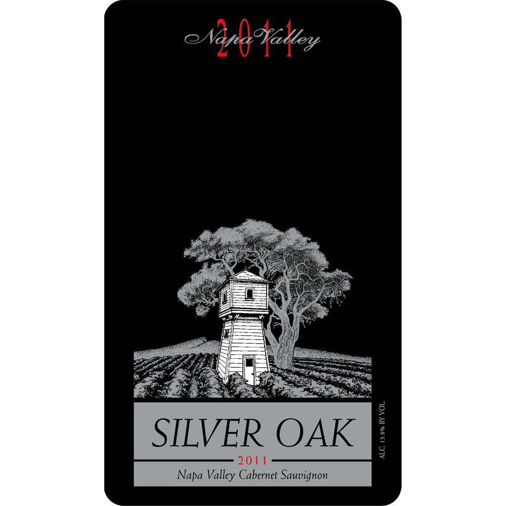 Silver Oak Napa Valley Cabernet Sauvignon (3 Liter Bottle) 2011 Front Label