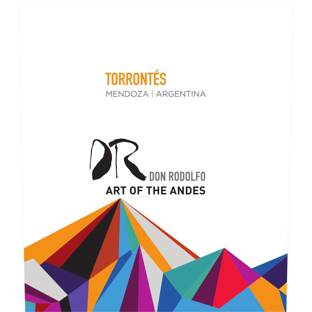 Don Rodolfo Torrontes 2015 Front Label