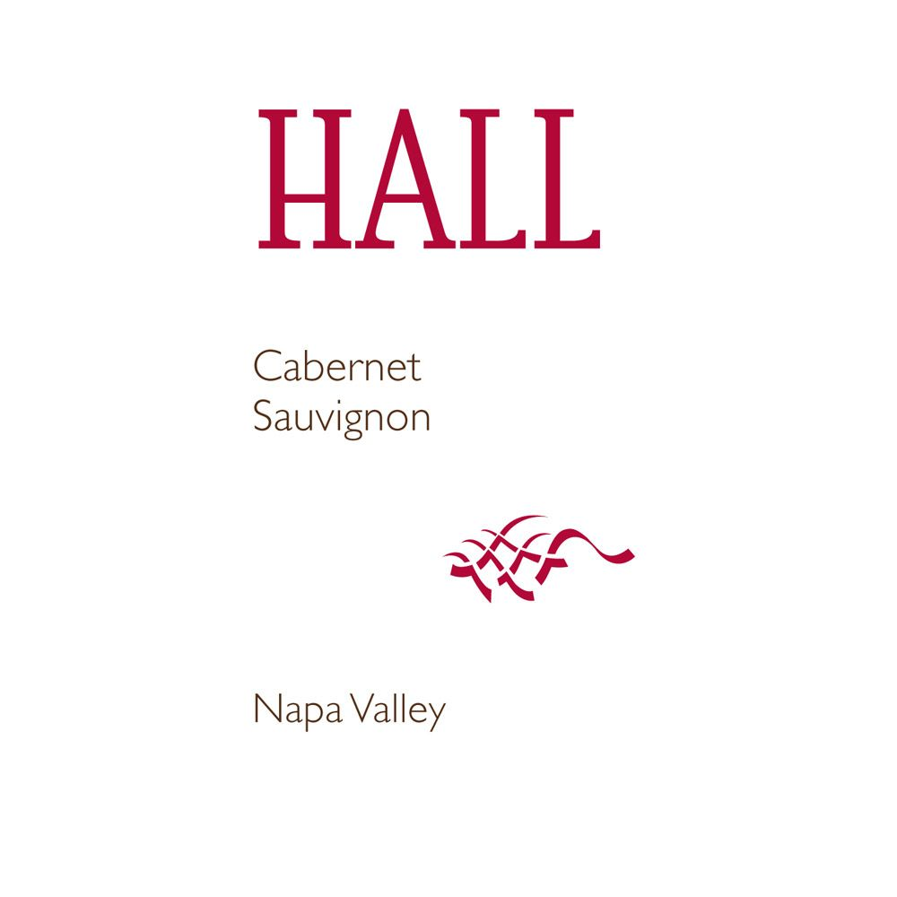 Hall Napa Valley Cabernet Sauvignon (375ML half-bottle) 2013 Front Label