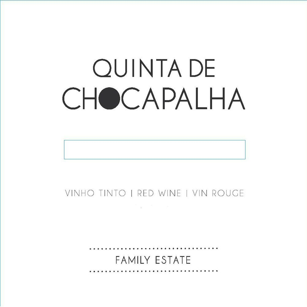 Quinta de Chocapalha Red 2013 Front Label