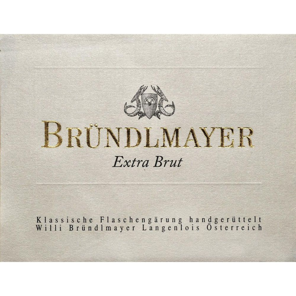 Brundlmayer Sekt Extra Brut Front Label
