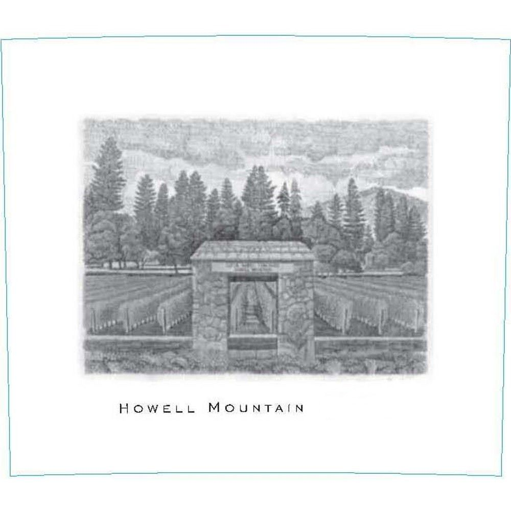 Abreu Vineyards Howell Mountain 2008 Front Label