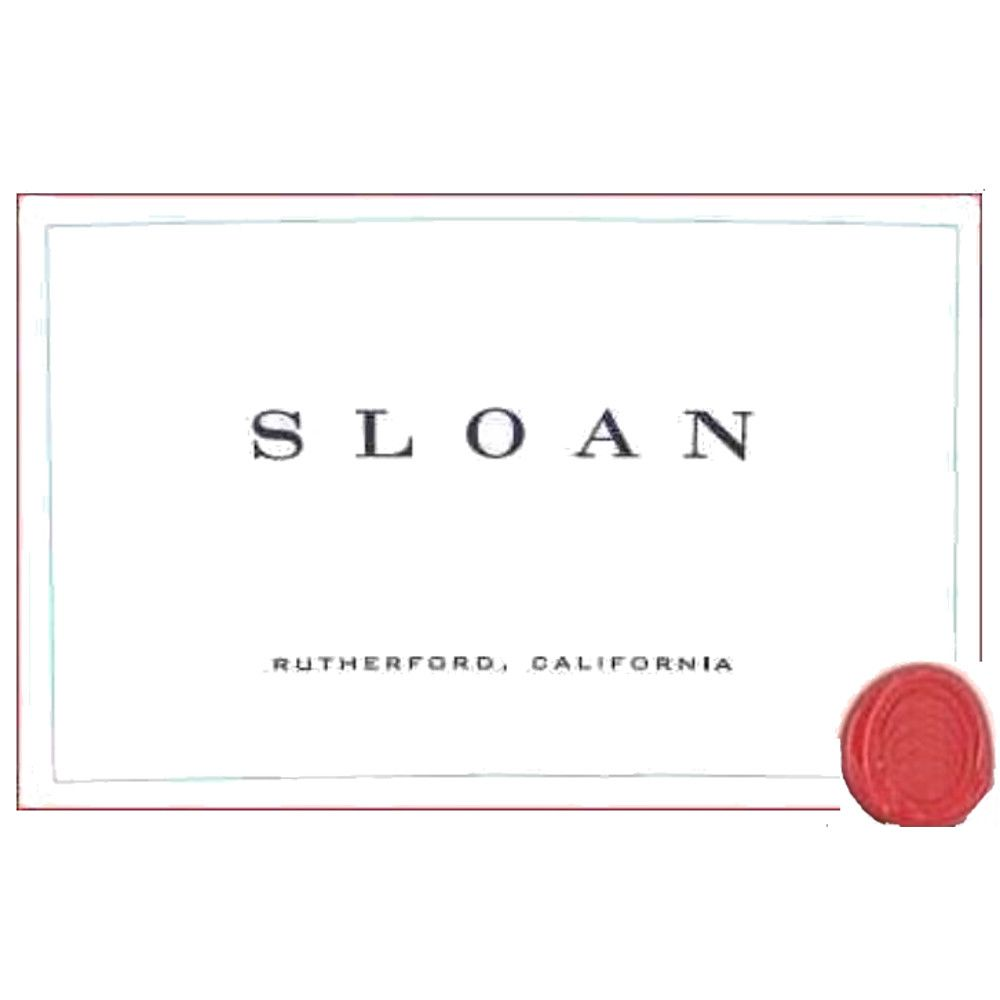Sloan Proprietary Red 2009 Front Label