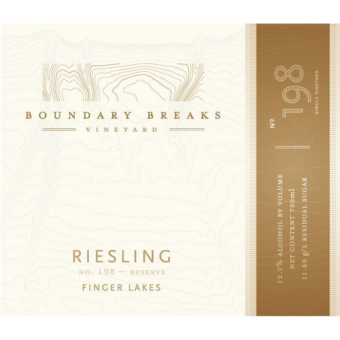 Boundary Breaks No.198 Reserve Riesling 2013 Front Label