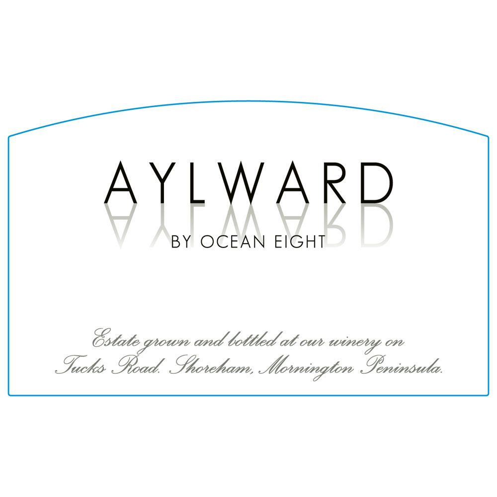 Ocean Eight Aylward Pinot Noir 2012 Front Label