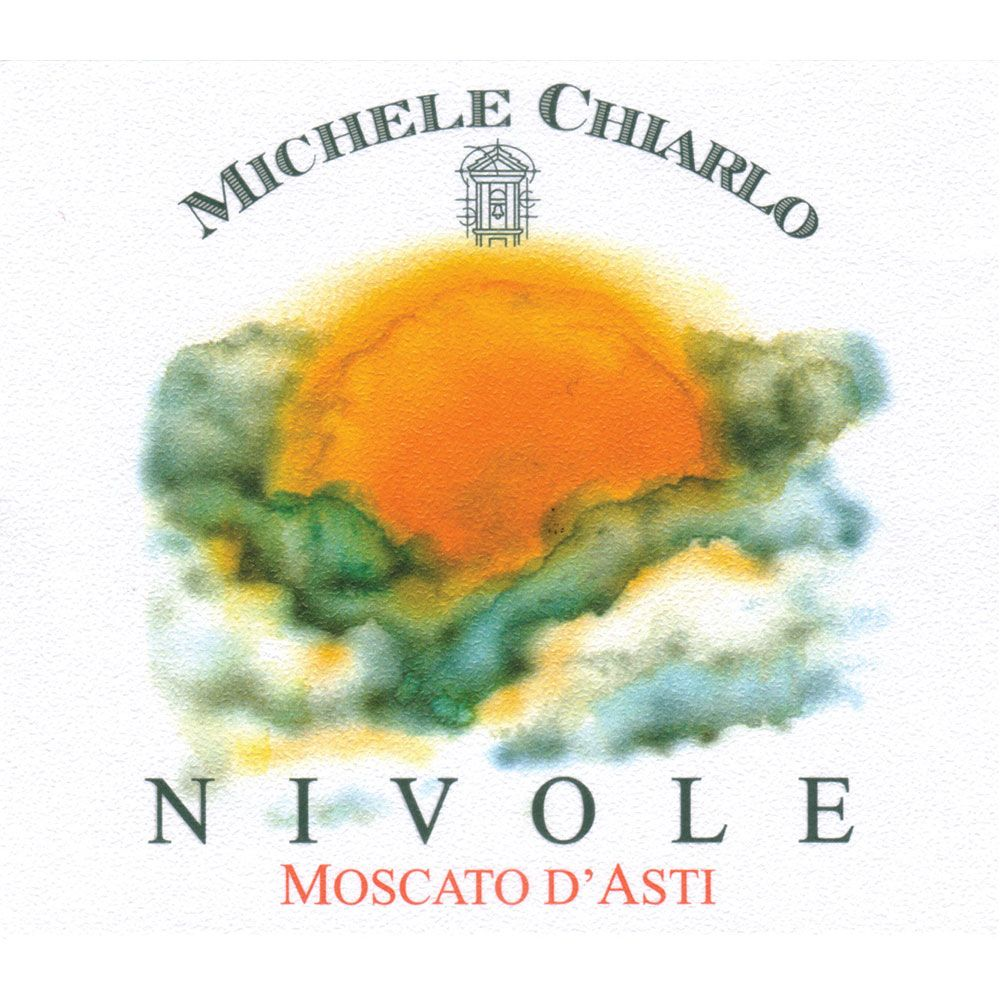 Michele Chiarlo Nivole Moscato d'Asti (375ML half-bottle) 2015 Front Label