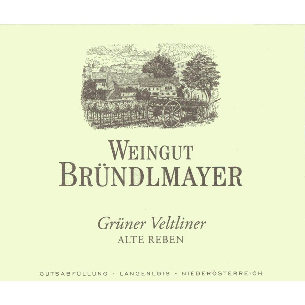 Brundlmayer Alte Reben Gruner Veltliner 2013 Front Label