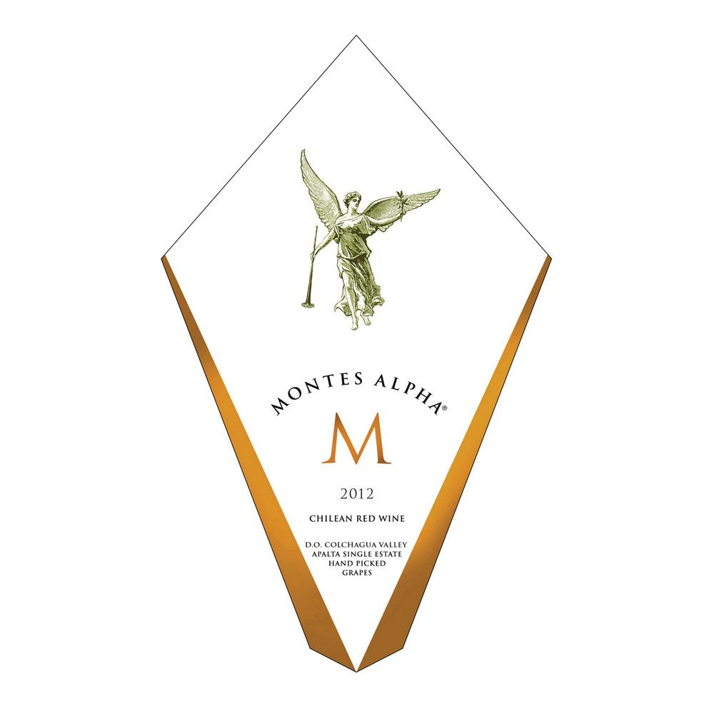 Montes Alpha M 2012 Front Label