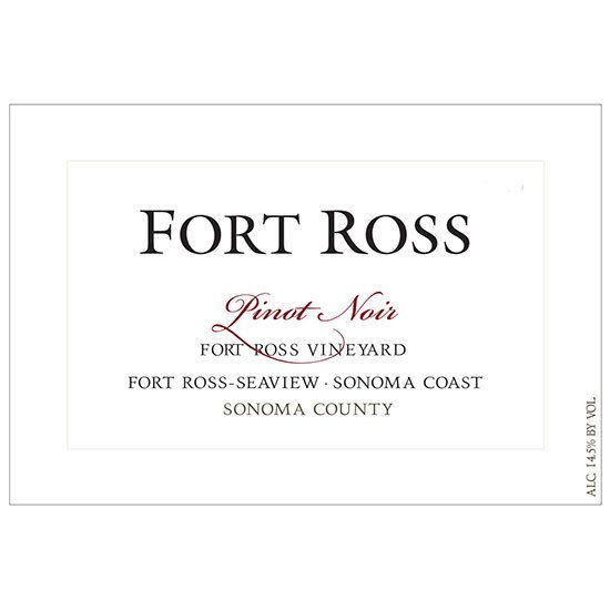 Fort Ross Vineyard Estate Pinot Noir 2012 Front Label
