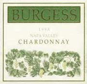 Burgess Chardonnay (half-bottle) 1997 Front Label