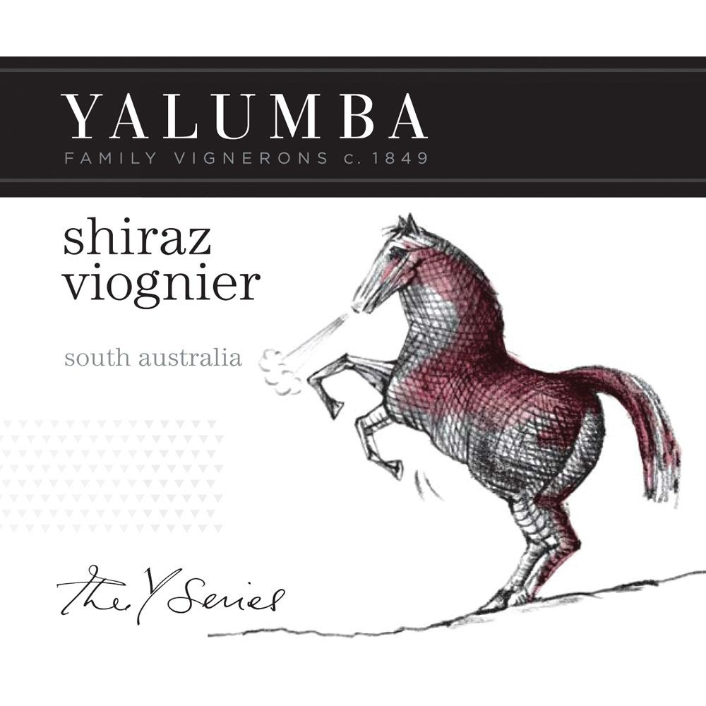 Yalumba Y Series Shiraz and Viognier 2014 Front Label