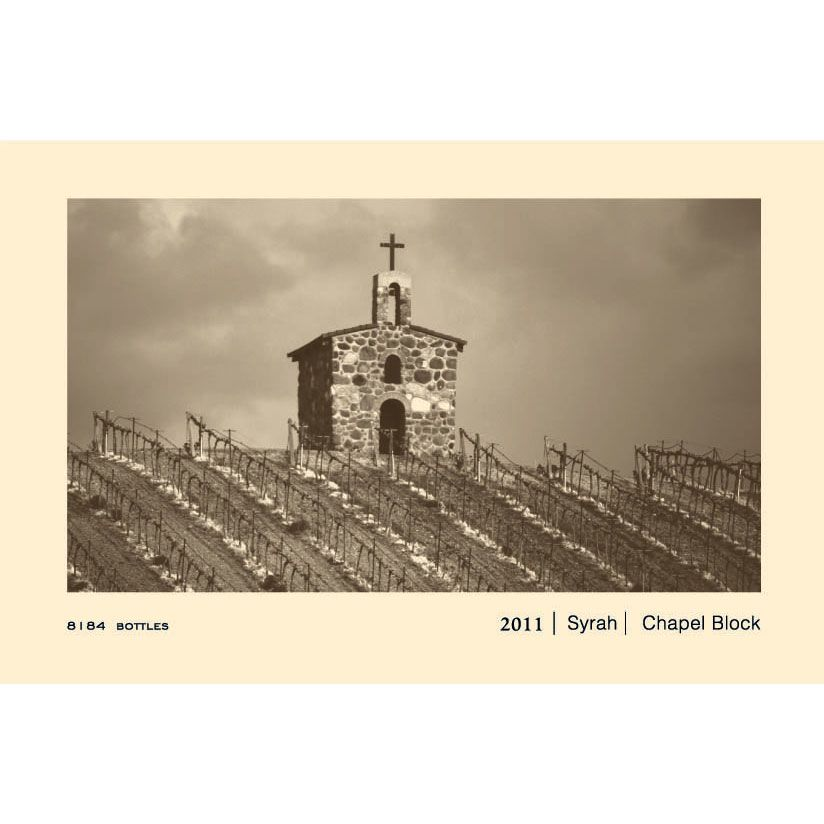 Owen Roe Chapel Block Red Willow Vineyard Syrah 2011 Front Label