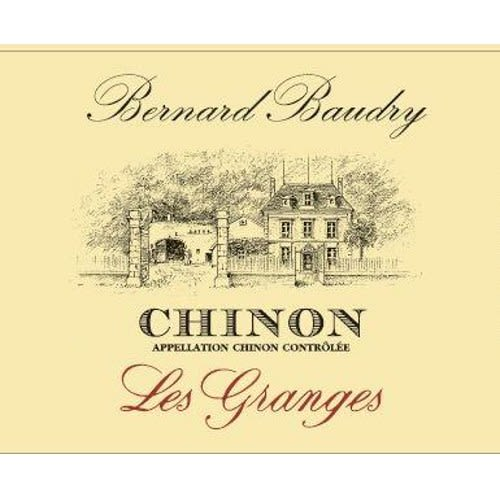 Bernard Baudry Chinon 2013 Front Label