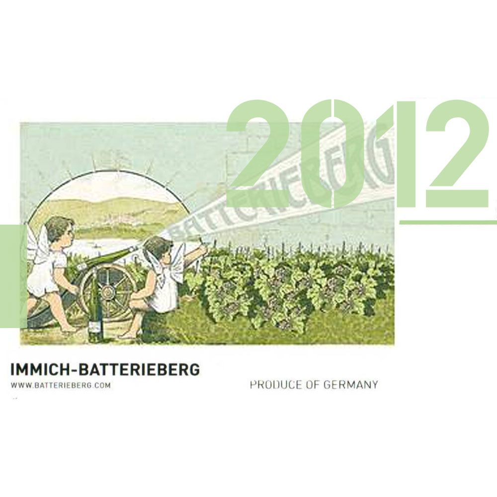 Immich-Batterieberg Zeppwingert Riesling 2012 Front Label