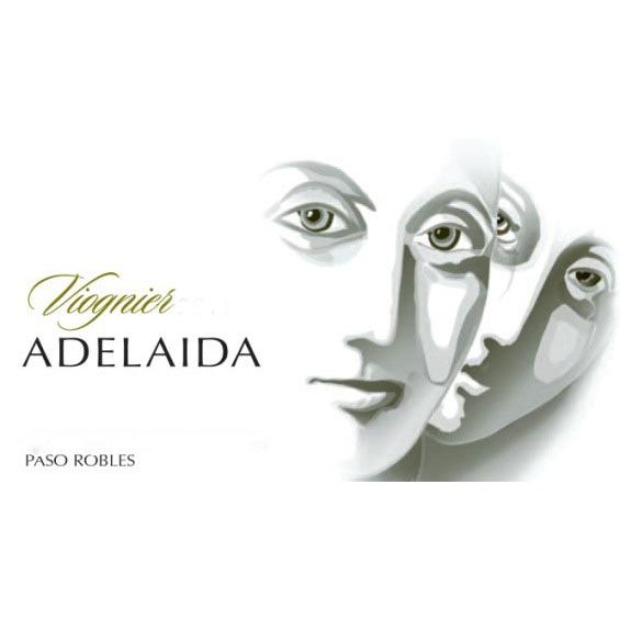 Adelaida Estate Viognier 2013 Front Label