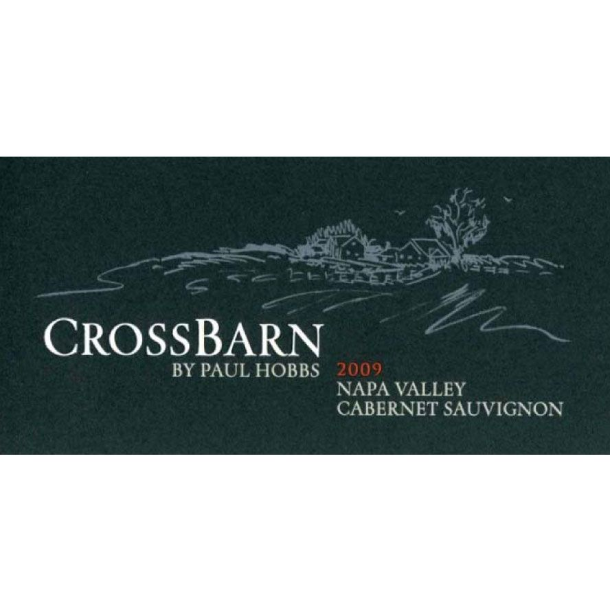 Crossbarn by Paul Hobbs Napa Valley Cabernet Sauvignon 2009 Front Label