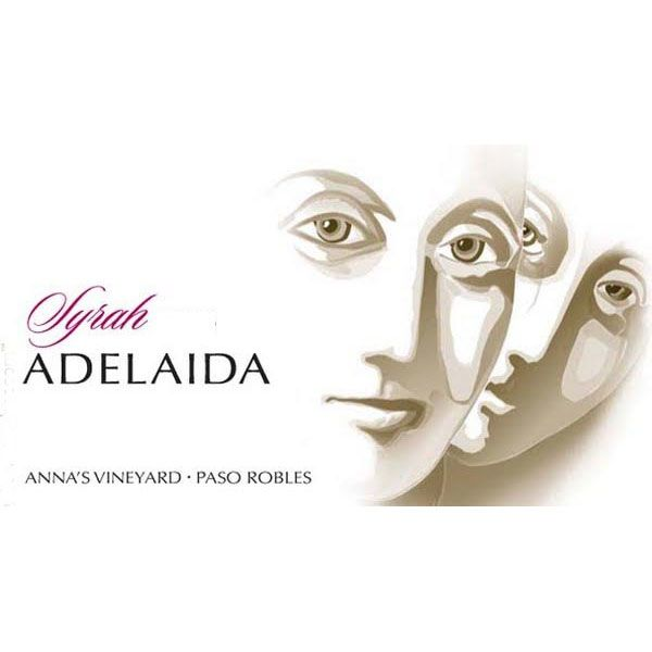 Adelaida Anna's Vineyard Syrah 2013 Front Label
