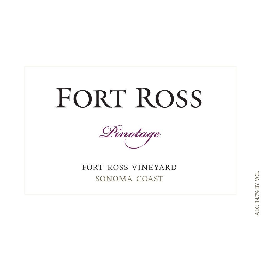 Fort Ross Vineyard Pinotage 2010 Front Label
