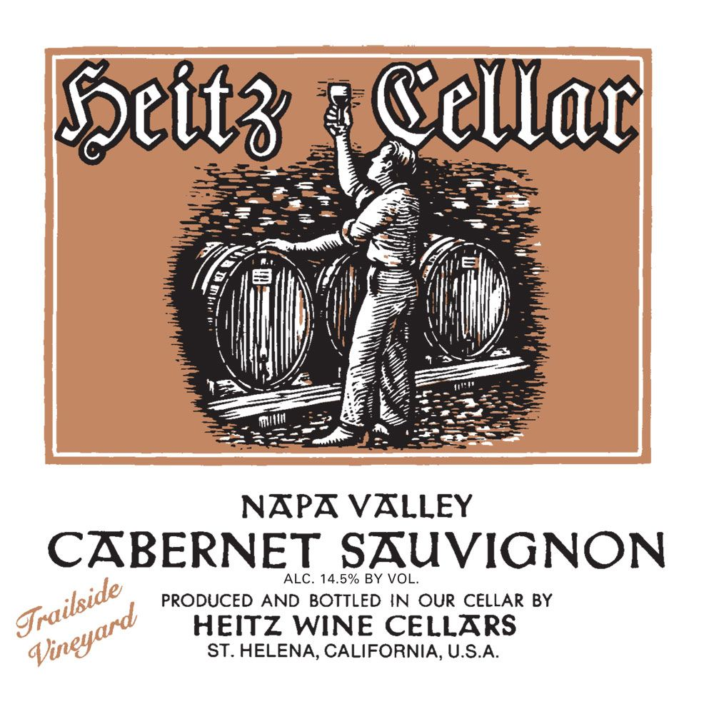 Heitz Cellar Trailside Vineyard Cabernet Sauvignon 2009 Front Label