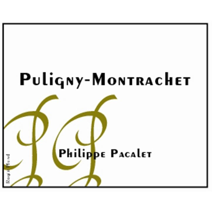 Philippe Pacalet Puligny-Montrachet 2013 Front Label