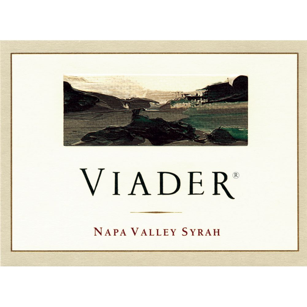 Viader Syrah (375ml half-bottle) 2004 Front Label