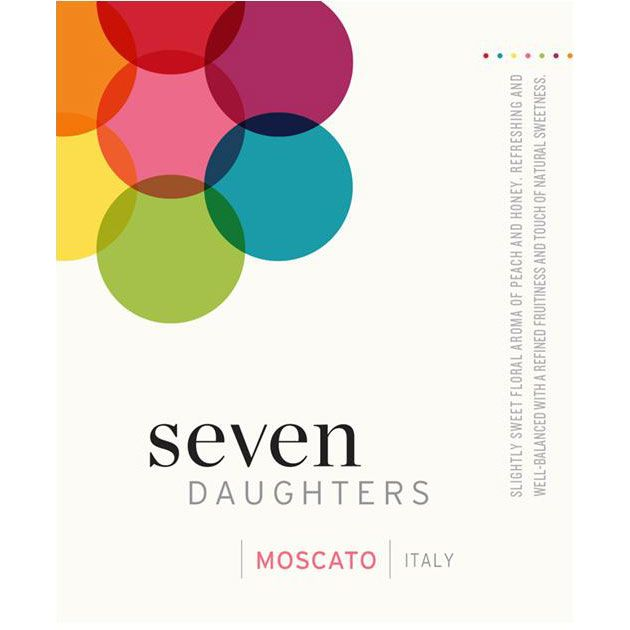 Seven Daughters Moscato 2014 Front Label