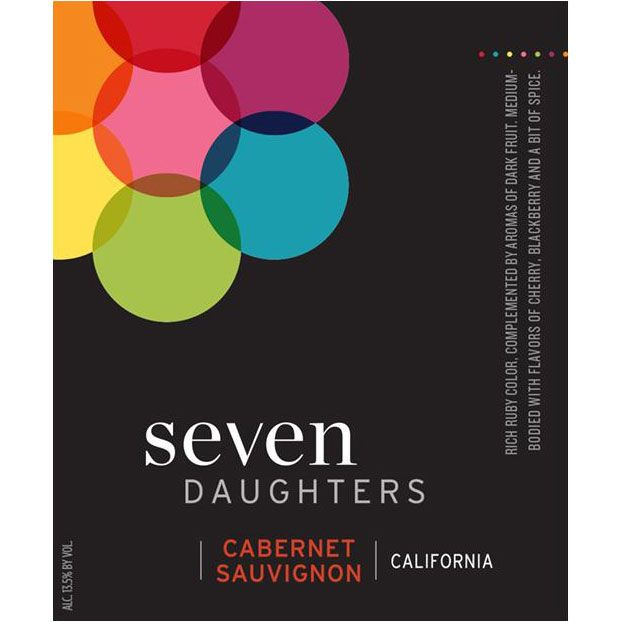 Seven Daughters Cabernet Sauvignon 2013 Front Label