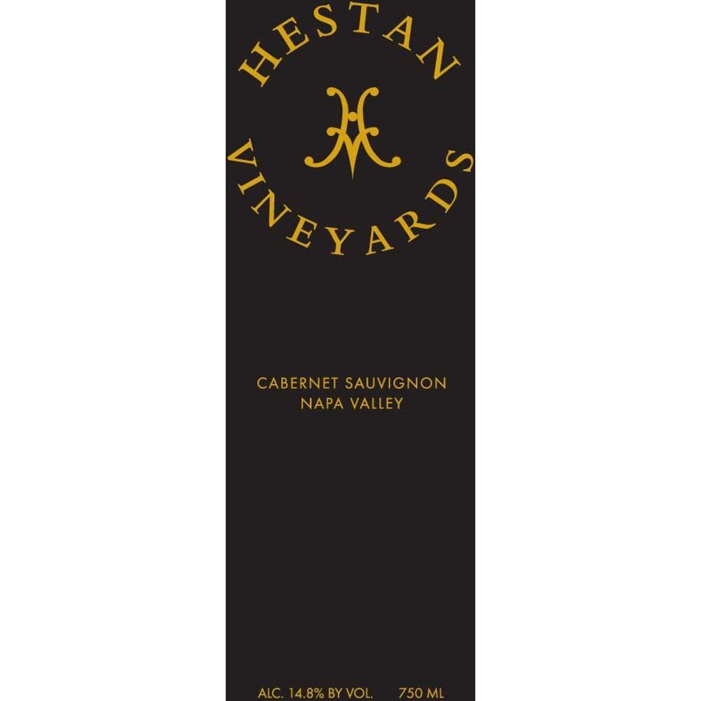 Hestan Vineyards Cabernet Sauvignon 2012 Front Label