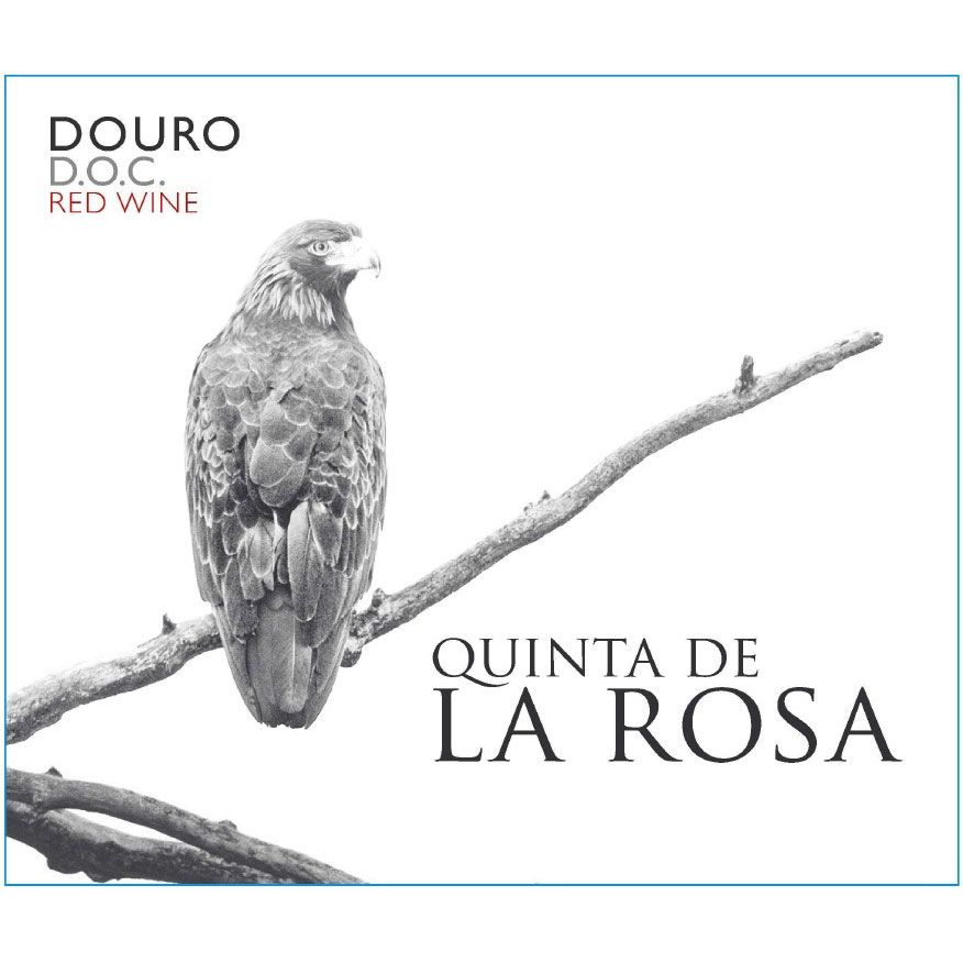 Quinta de la Rosa Estate Red 2012 Front Label