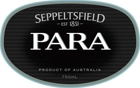 Seppeltsfield Para Vintage Port 1954 Front Label