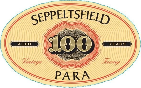 Seppeltsfield Para Centenary 100 Year Old Vintage Tawny Port 1910 Front Label