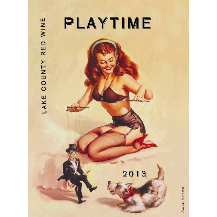 Playtime Red 2013 Front Label
