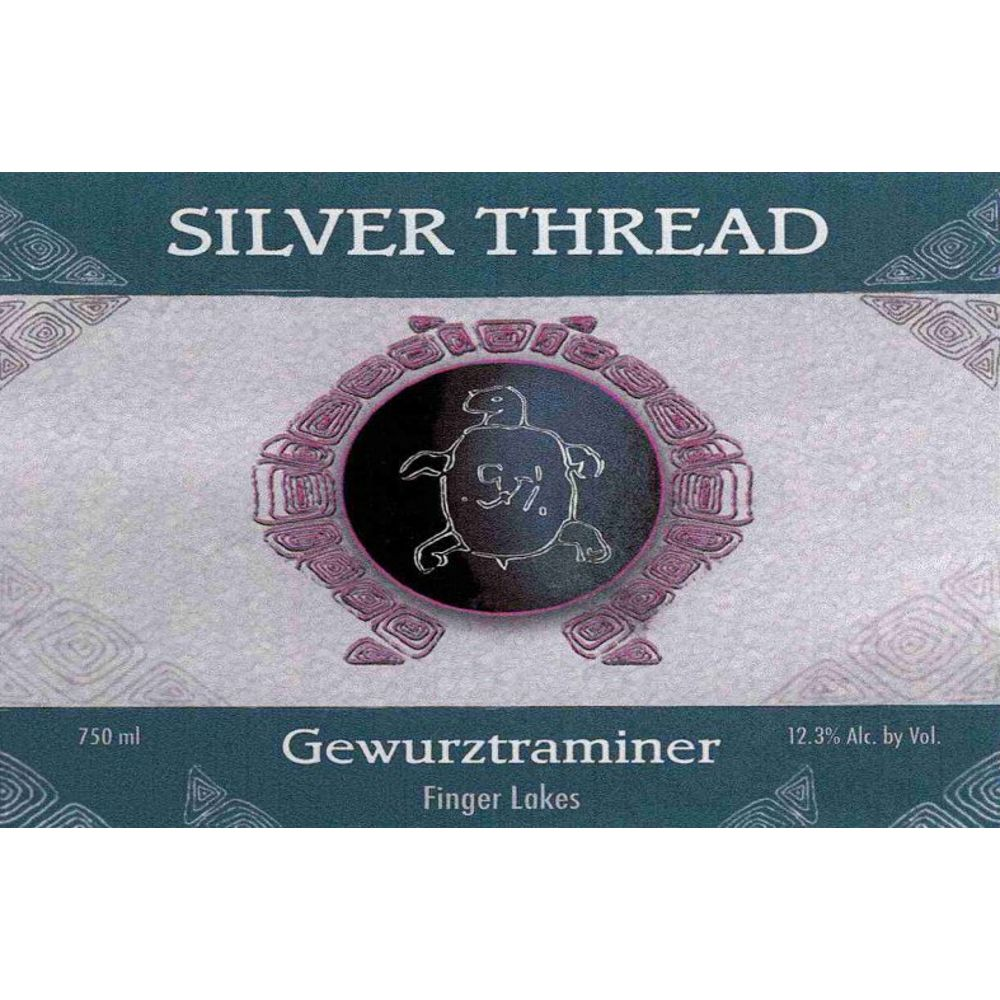 Silver Thread STV Estate Vineyard Gewurztraminer 2014 Front Label