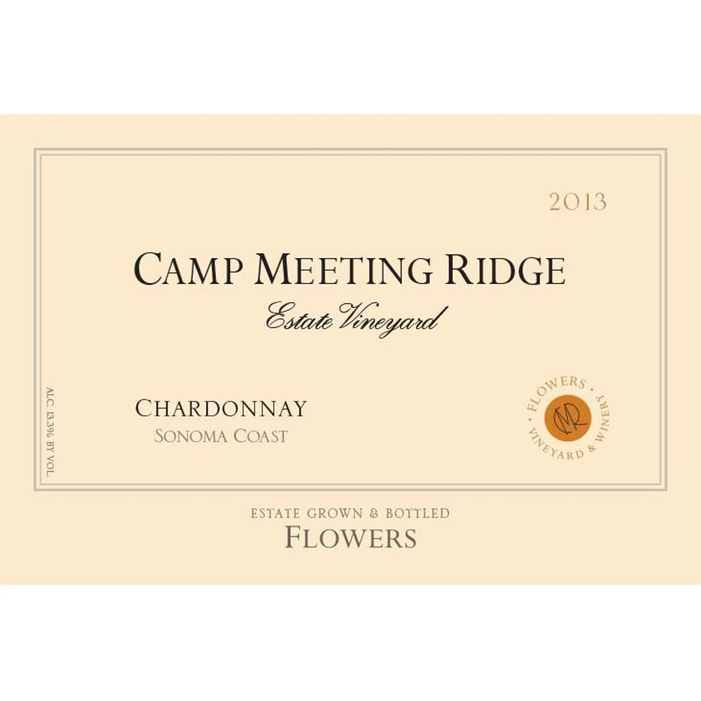 Flowers Camp Meeting Ridge Chardonnay 2013 Front Label