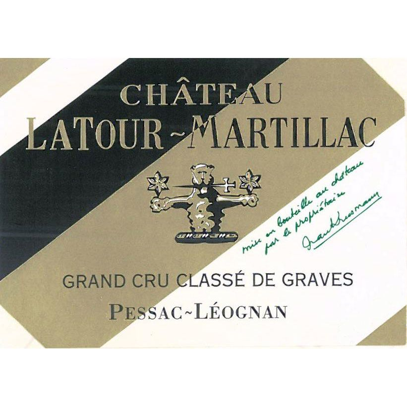 Chateau LaTour-Martillac Blanc (375ML half-bottle) 2013 Front Label