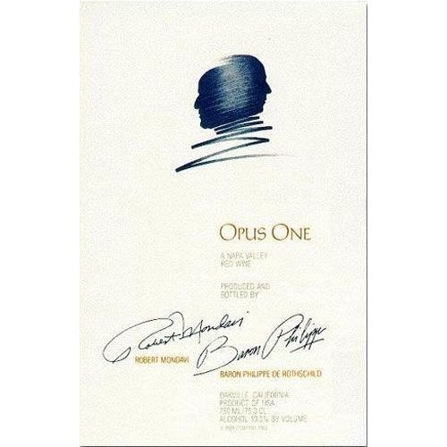 Opus One  1980 Front Label