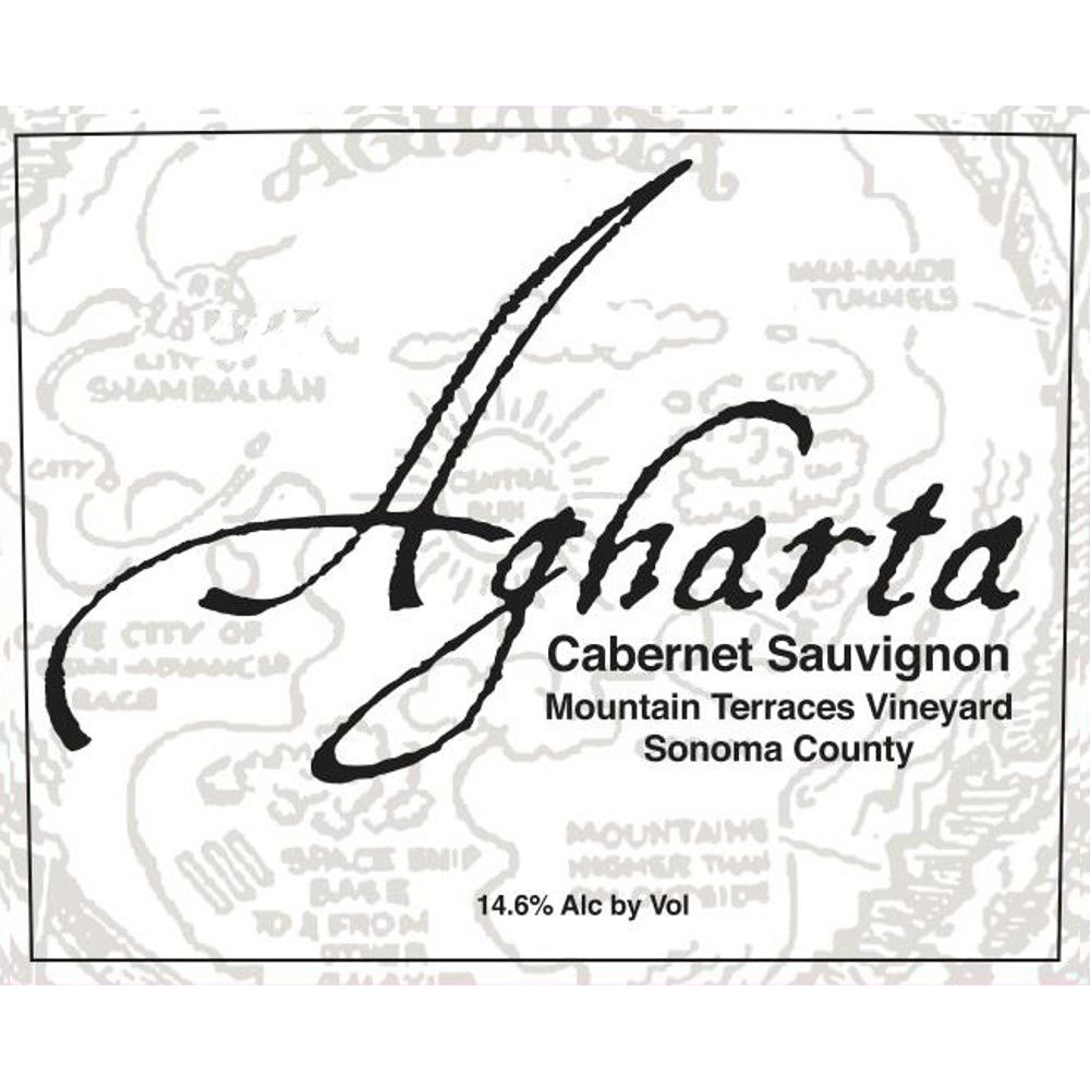 Agharta Mountain Terraces Cabernet Sauvignon 2011 Front Label