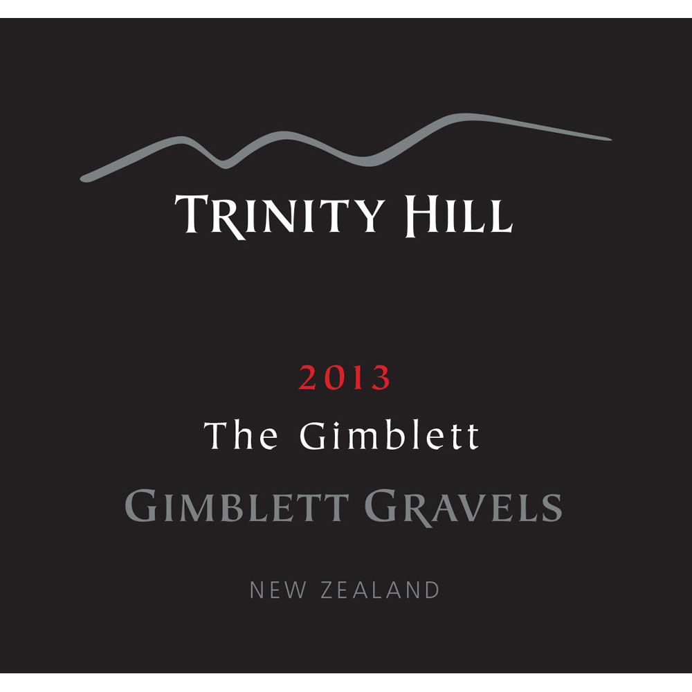 Trinity Hill Gimblett Gravels The Gimblett 2013 Front Label