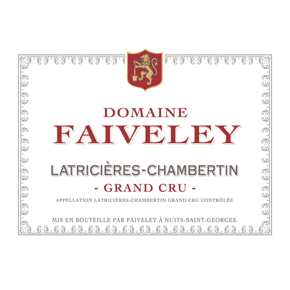 Domaine Faiveley Latricieres-Chambertin Grand Cru 2010 Front Label