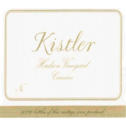 Kistler Vineyards Hudson Chardonnay 2007 Front Label