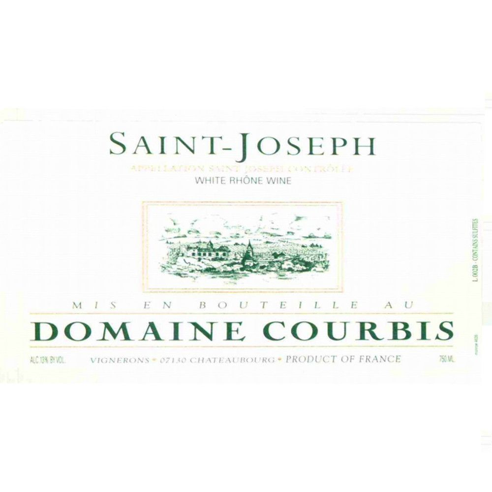 Courbis Saint-Joseph Blanc 2012 Front Label