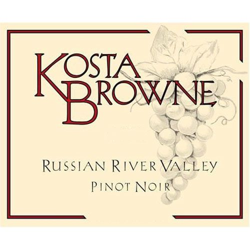 Kosta Browne Russian River Pinot Noir 2014 Front Label