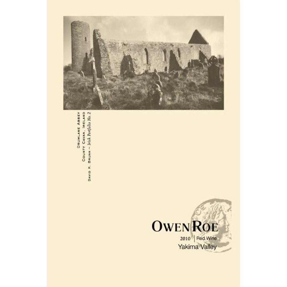 Owen Roe Yakima Red Blend 2010 Front Label