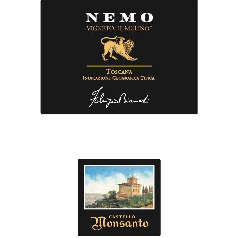 Castello di Monsanto Nemo 2007 Front Label