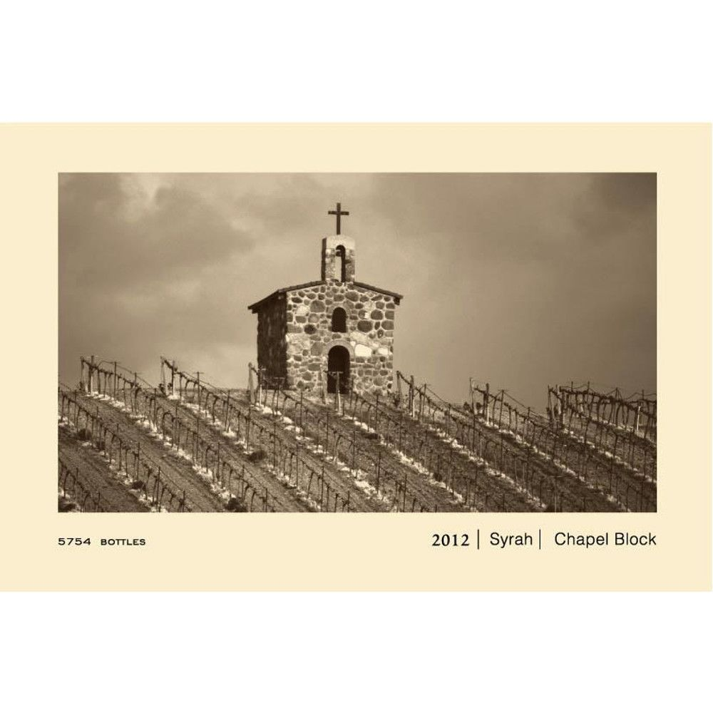 Owen Roe Chapel Block Red Willow Vineyard Syrah 2012 Front Label