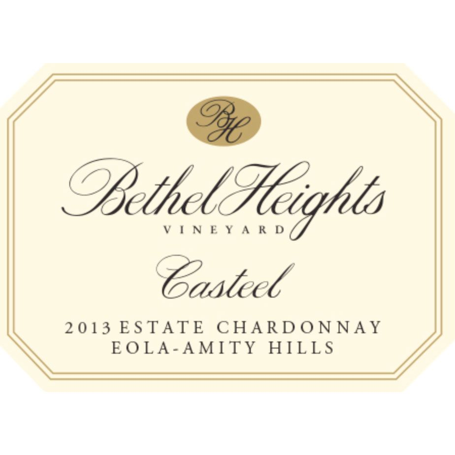 Bethel Heights Casteel Chardonnay 2013 Front Label