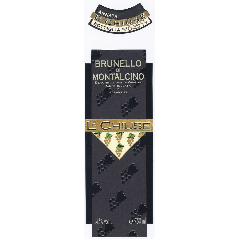 Le Chiuse Brunello di Montalcino 2008 Front Label