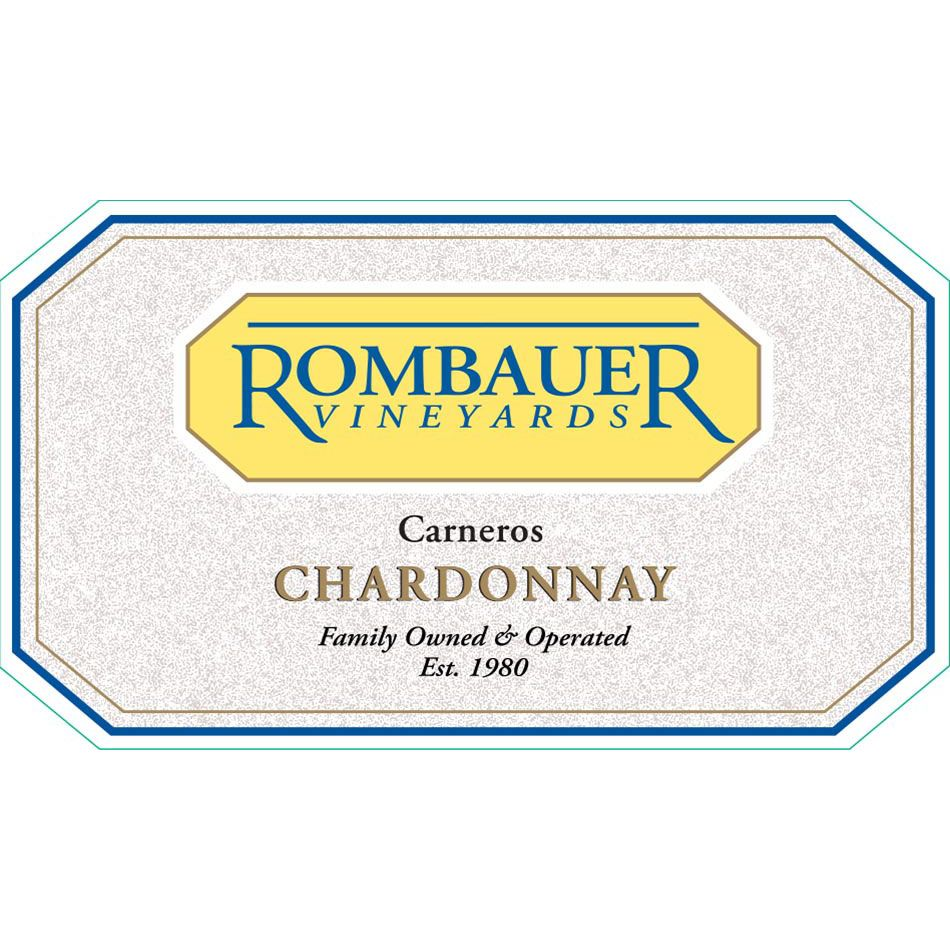 Rombauer Chardonnay (375ML half-bottle) 2014 Front Label