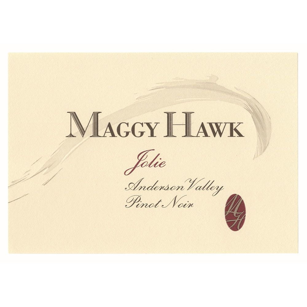 Maggy Hawk Jolie Anderson Valley Pinot Noir 2012 Front Label